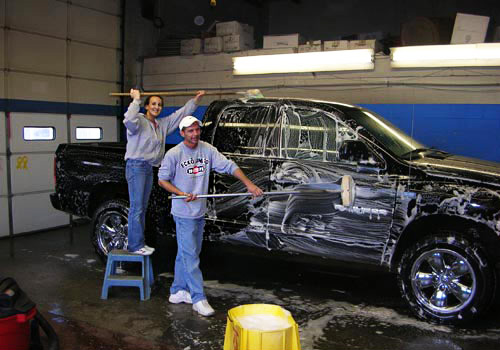 All our car washes are done by hand - just one of the great personal services we offer.