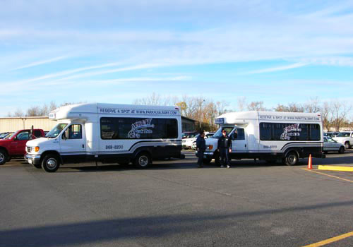 Our shuttles are ready when you are, where our drivers promise to get you to the airport on time.