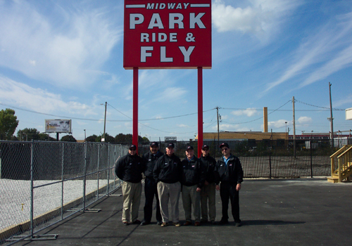Welcome to Midway Park Ride & Fly. We provide professional self-parking services and we are located just 2 miles from Chicago's Midway Airport.